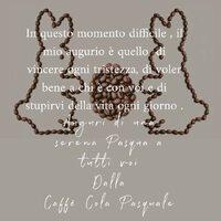 Rinasceremo❤️ #caffecolapasquale#happyeaster #instamoment #instangood #love #passion #instagram #coffeetime